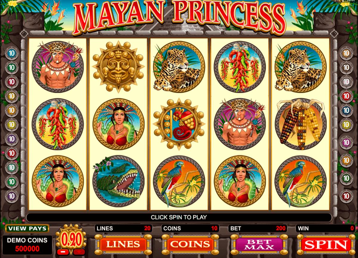 mayan princess microgaming kolikkopelit
