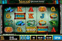 mayan treasures bally kolikkopelit