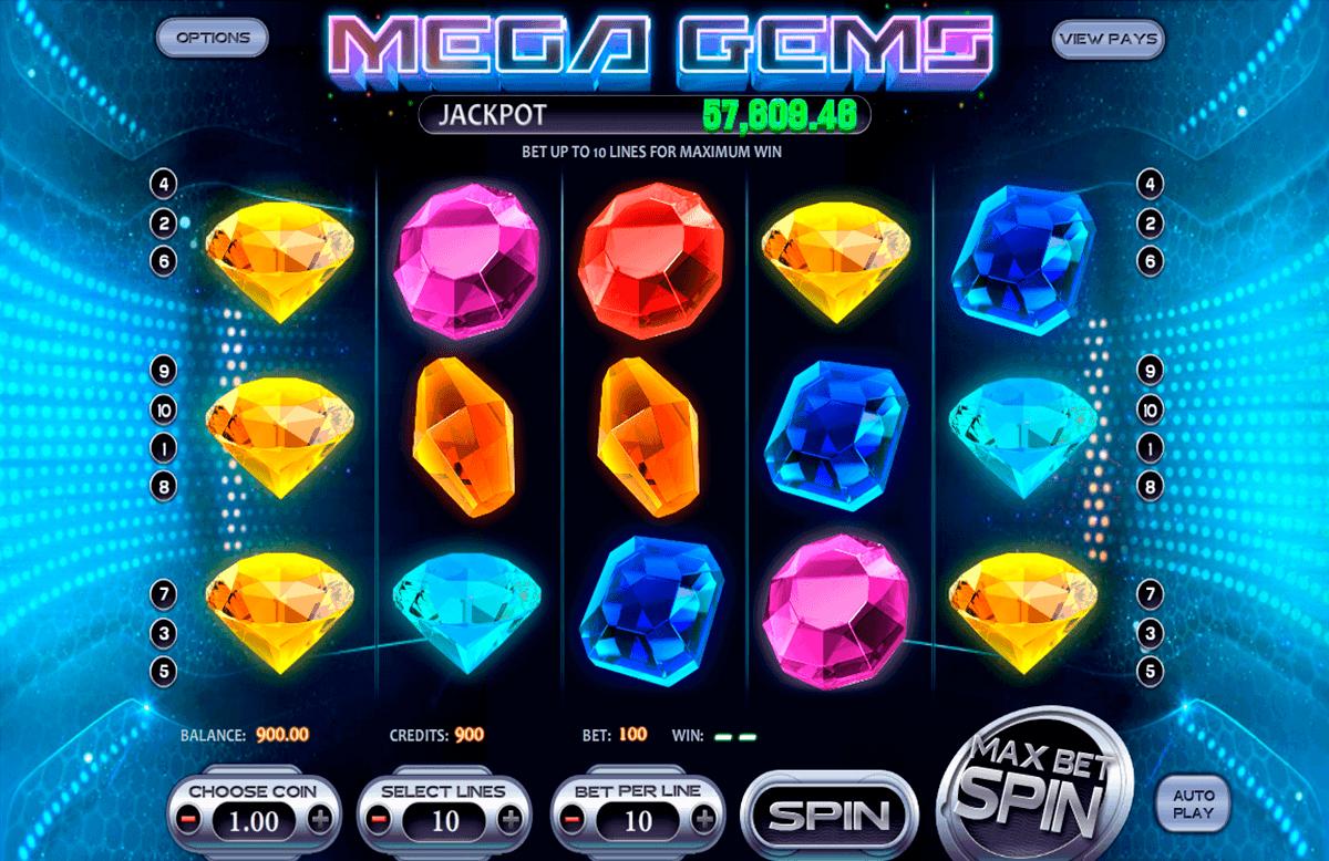 mega gems betsoft kolikkopelit