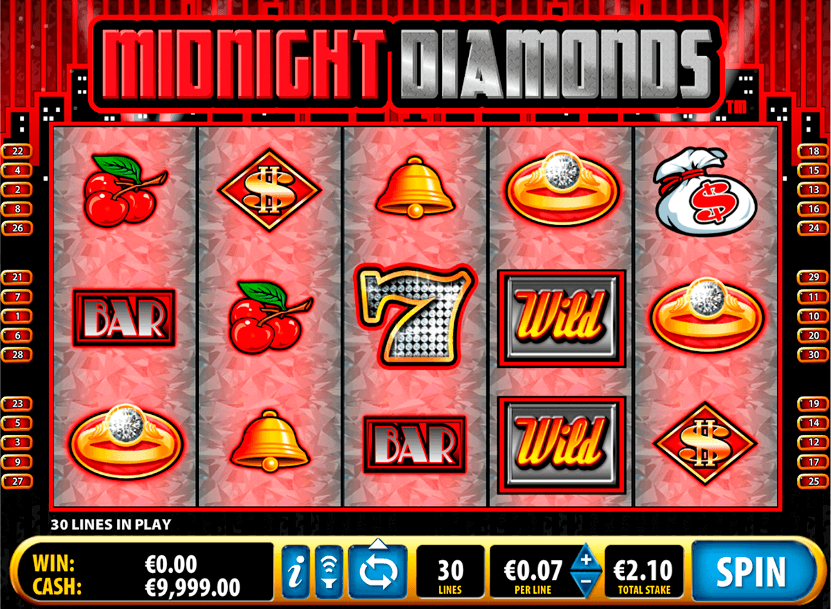 midnight diamonds bally kolikkopelit