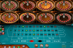 multiwheel european roulette gold series microgaming ruletti