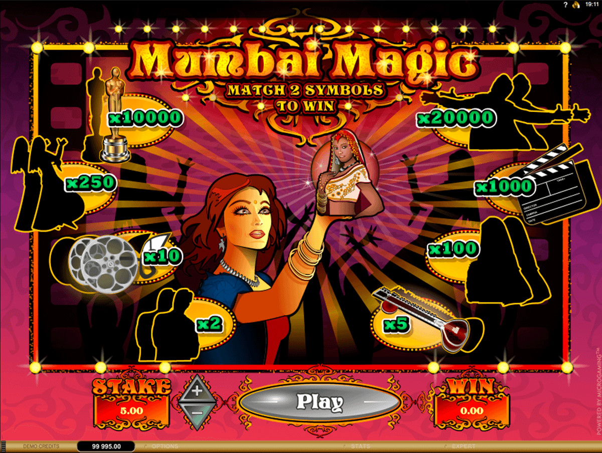 mumbai magic microgaming raaputusarvat
