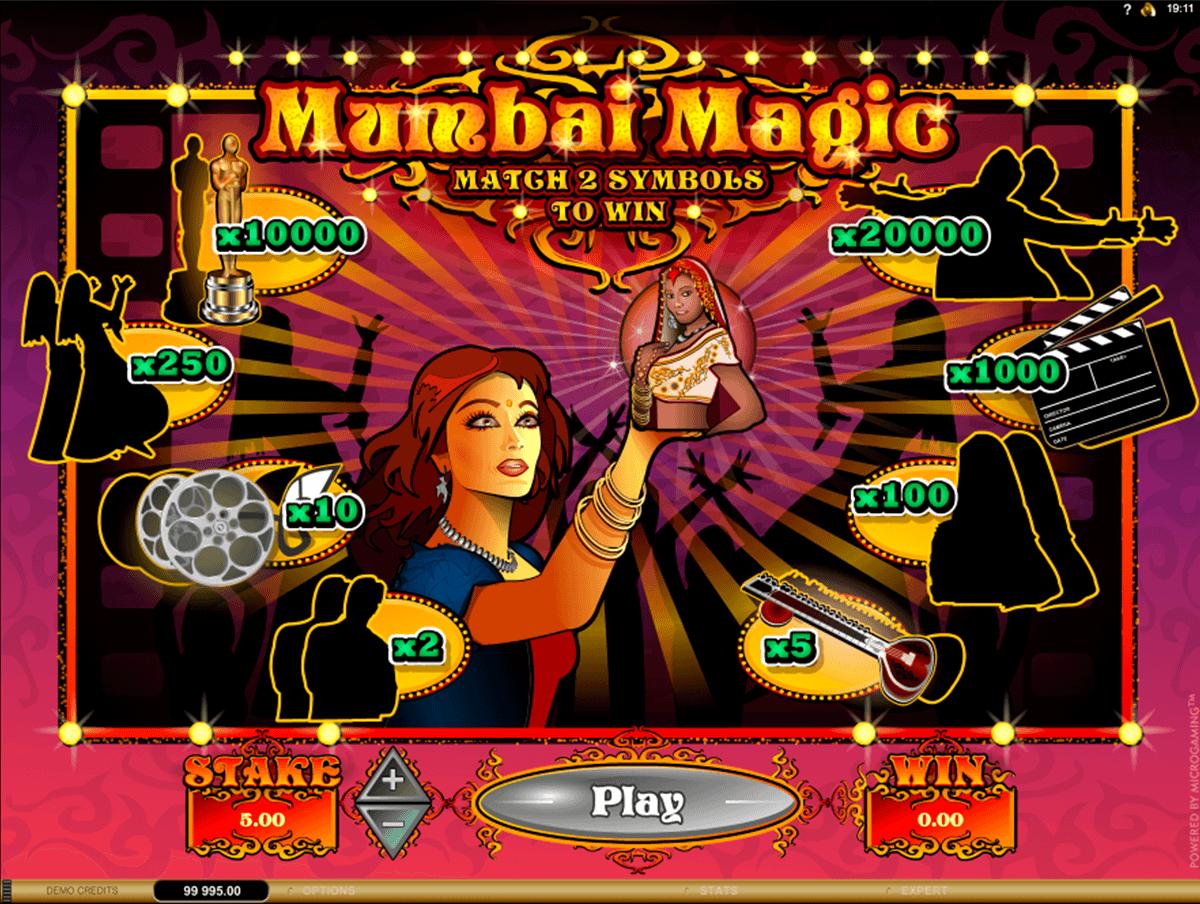 mumbai magic microgaming raaputusarvat