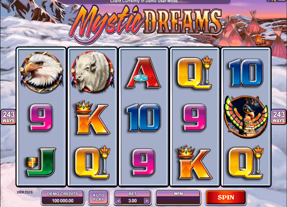 mystic dreams microgaming kolikkopelit