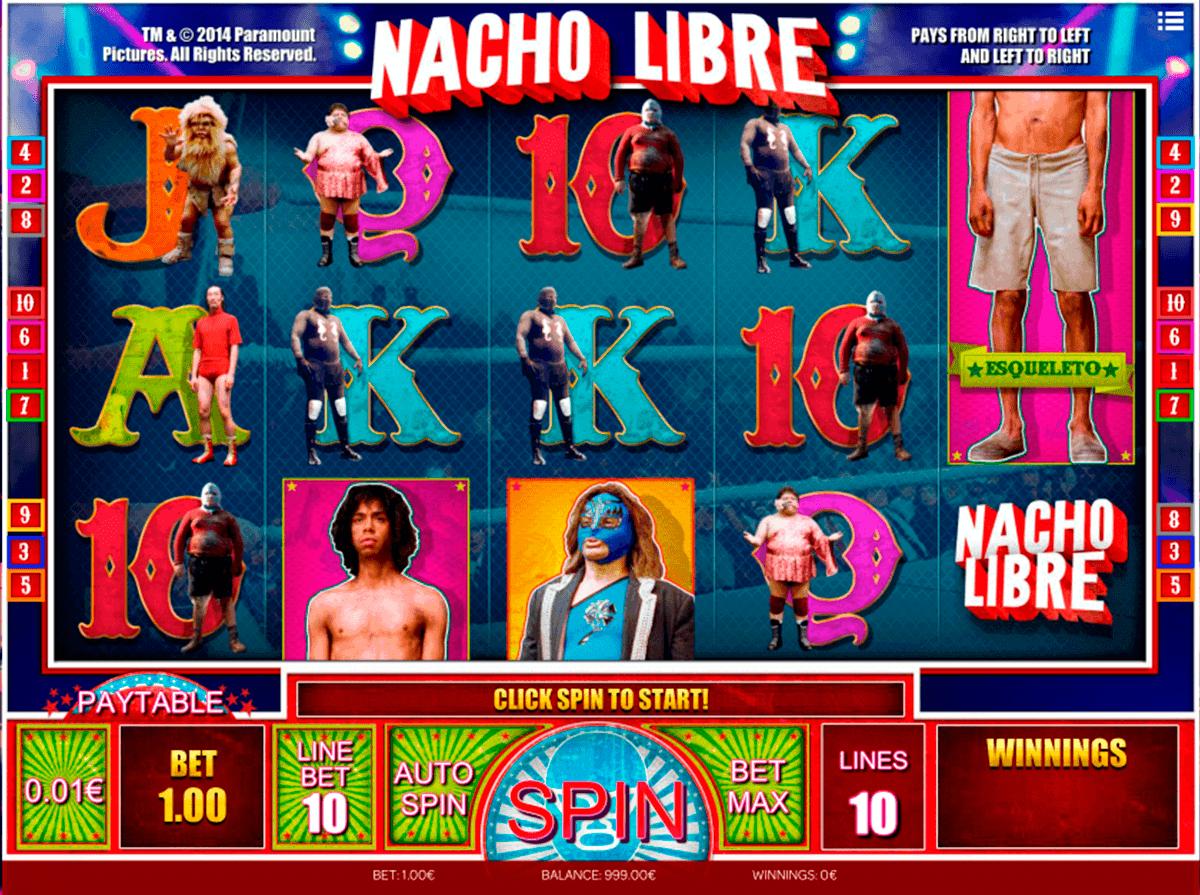 nacho libre isoftbet kolikkopelit
