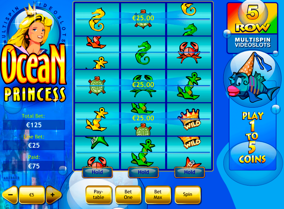 ocean princess playtech kolikkopelit