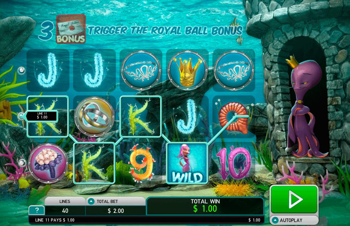 octopus kingdom leander kolikkopelit