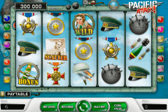 pacific attack netent kolikkopelit