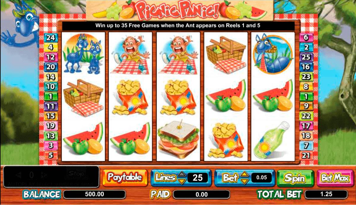 picnic panic amaya kolikkopelit