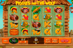piggies and the wolf playtech kolikkopelit
