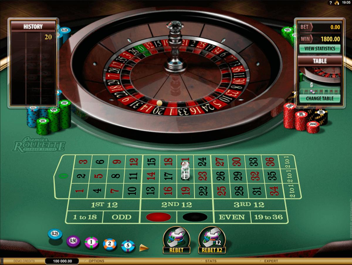 premier roulette diamond edition microgaming ruletti