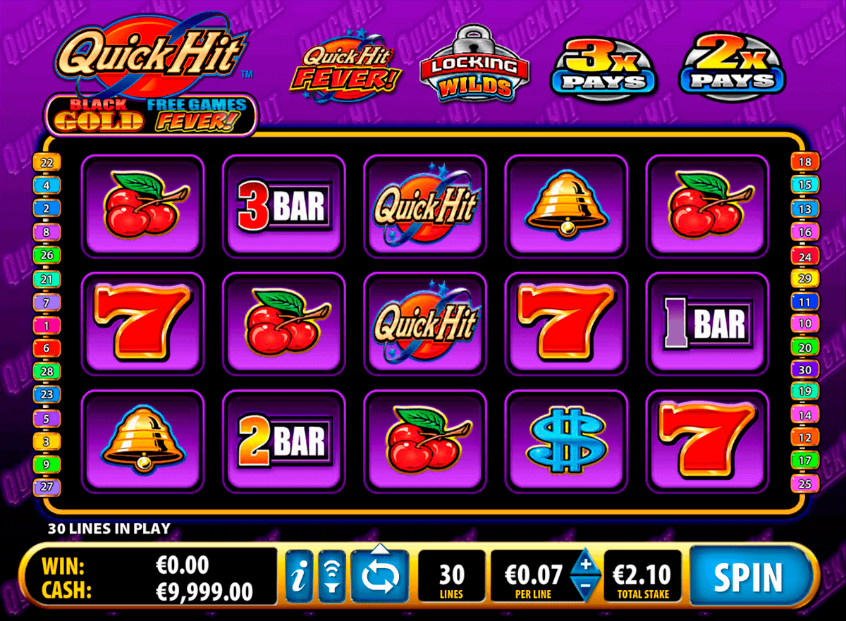 quick hit black gold bally kolikkopelit