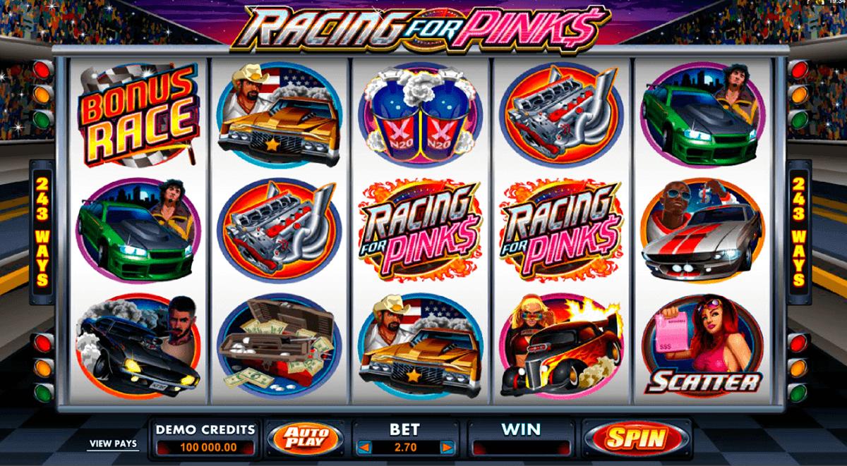racing for pinks microgaming kolikkopelit