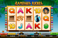 ramesses riches netgen gaming kolikkopelit