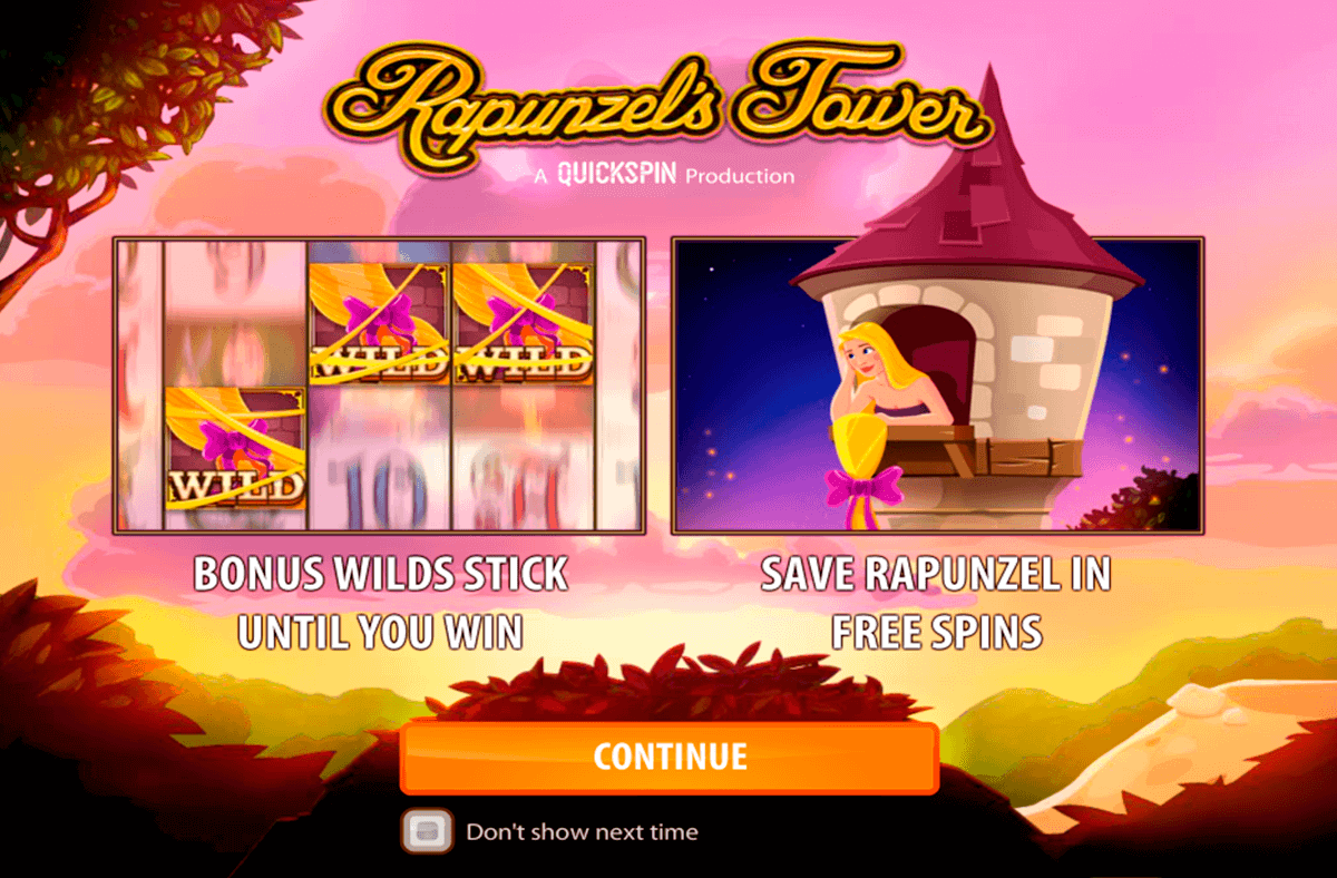 rapunzels tower quickspin kolikkopelit