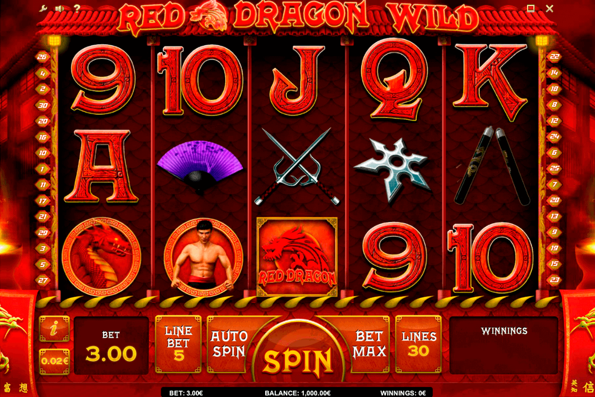 red dragon wild isoftbet kolikkopelit