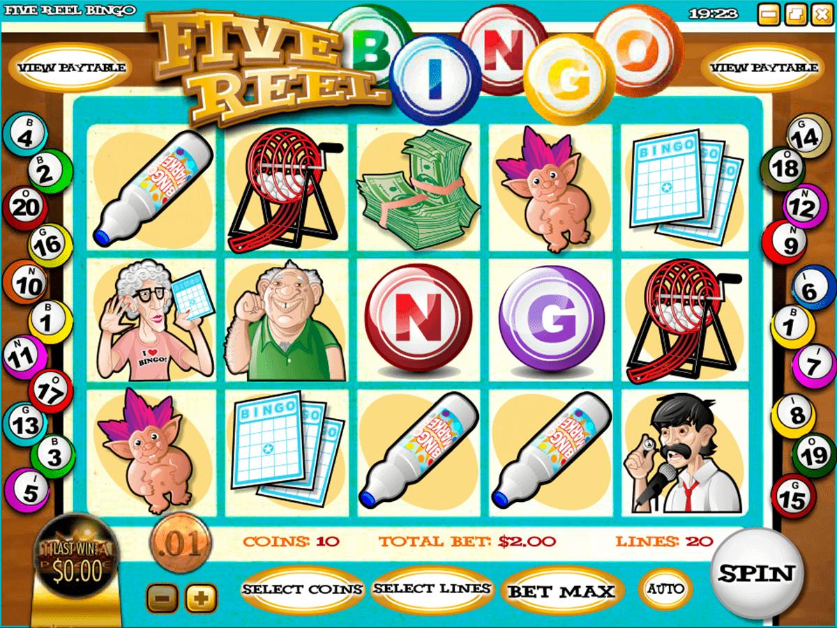 reely bingo leander kolikkopelit