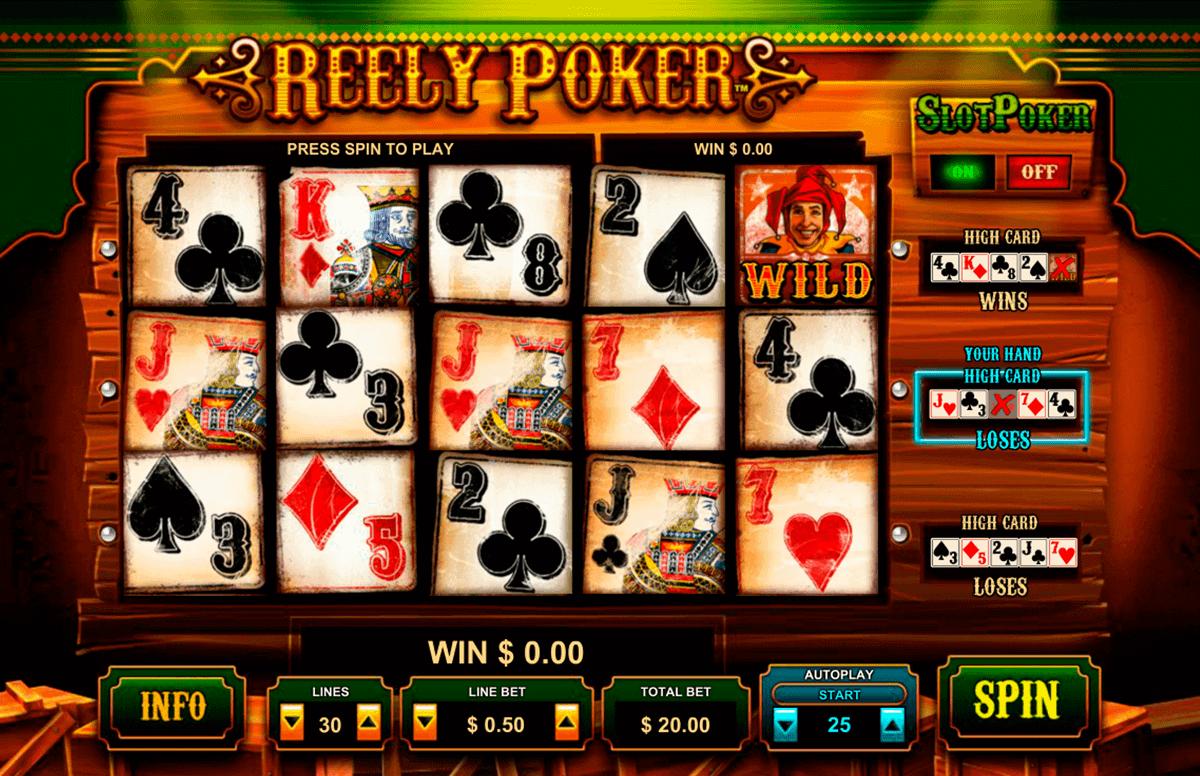 reely poker leander kolikkopelit