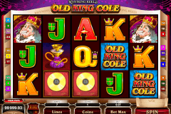 rhyming reels old king cole microgaming kolikkopelit