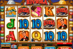 riviera riches microgaming kolikkopelit