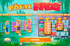 royal frog quickspin kolikkopelit