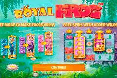 royal frog quickspin kolikkopelit