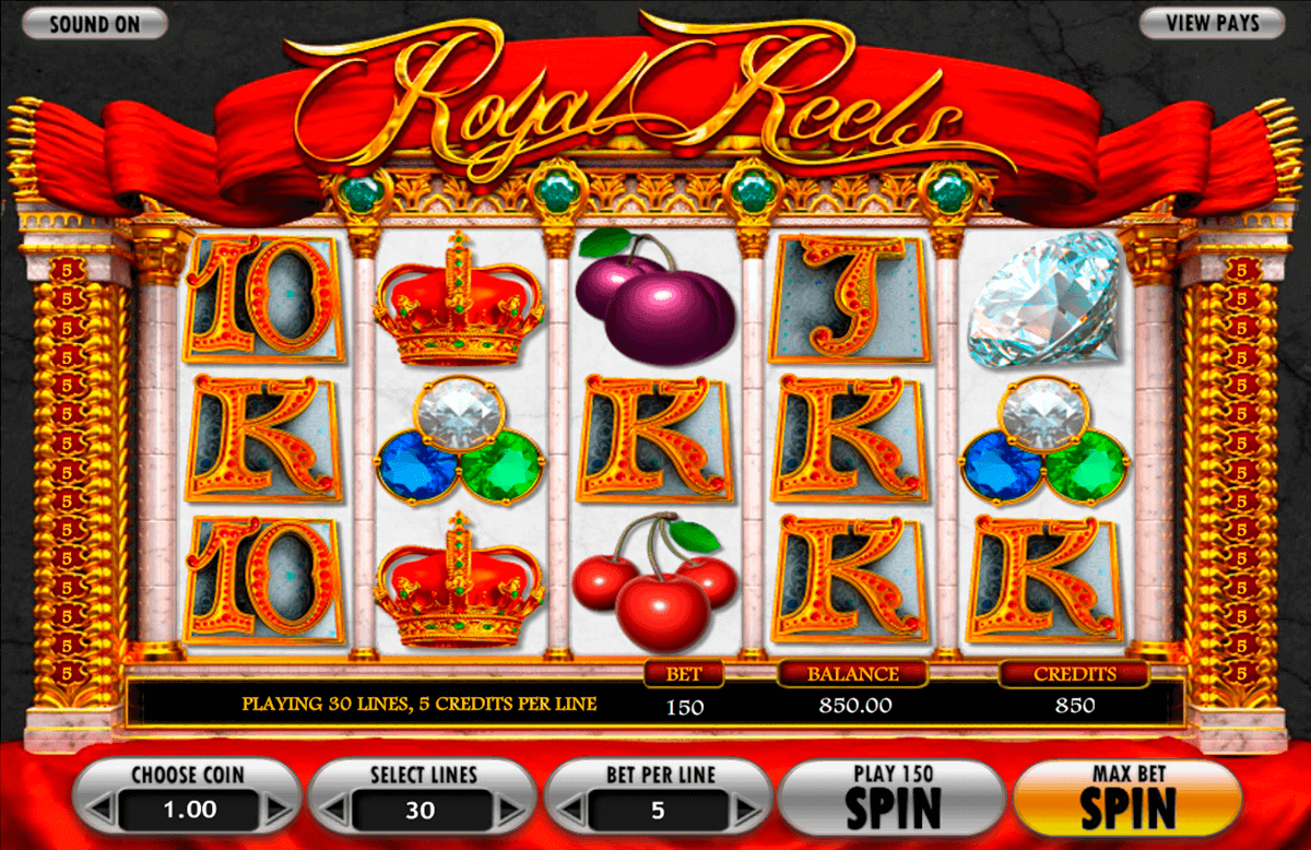 royal reels betsoft kolikkopelit