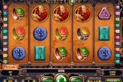 secret code netent kolikkopelit