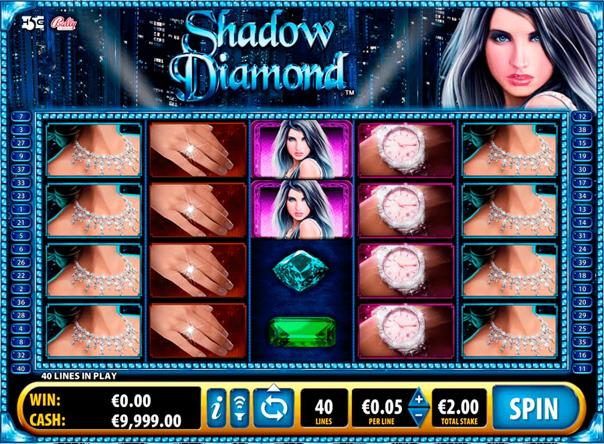 shadow diamond bally kolikkopelit
