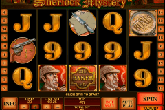 sherlock mystery playtech kolikkopelit