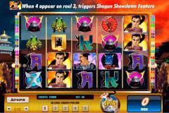 shogun showdown amaya kolikkopelit