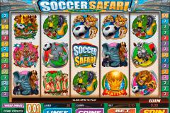 soccer safari microgaming kolikkopelit