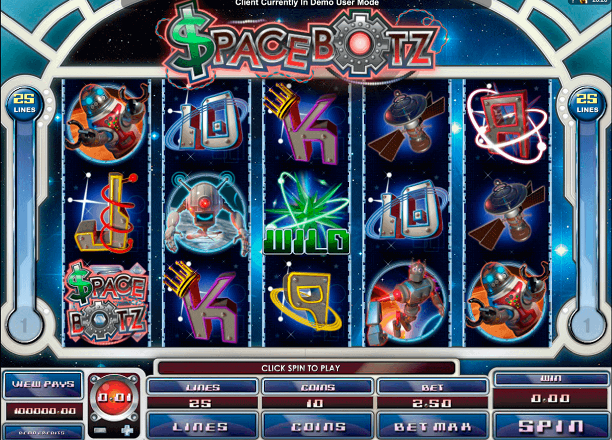 space botz microgaming kolikkopelit
