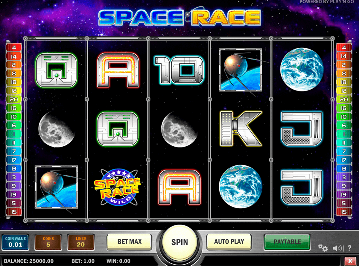 space race playn go kolikkopelit
