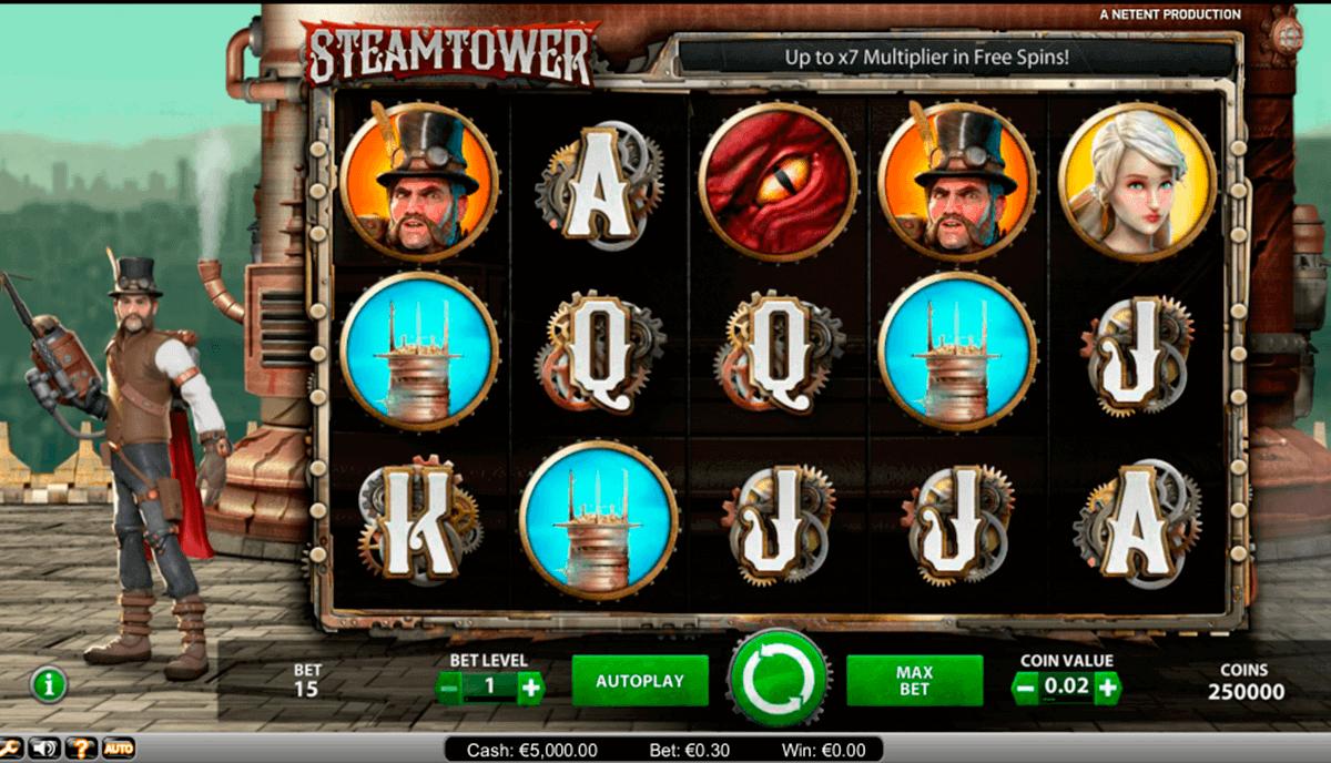 steam tower netent kolikkopelit