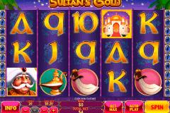 sultans gold playtech kolikkopelit