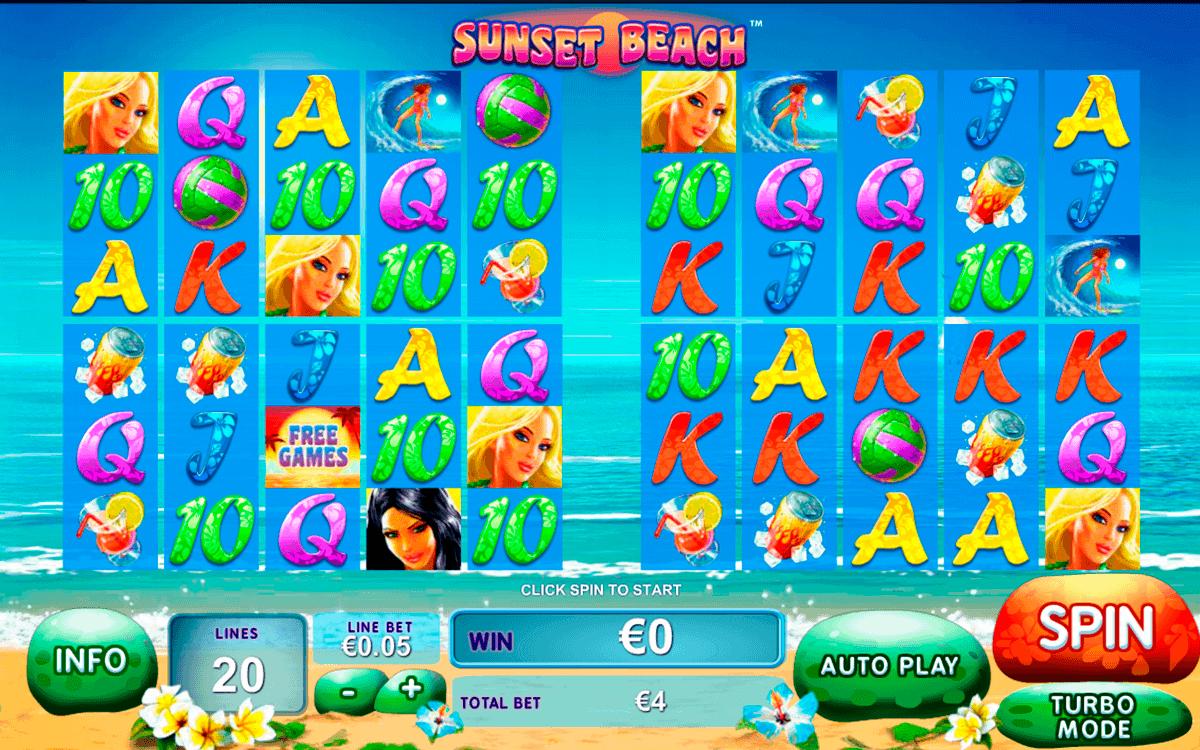 sunset beach playtech kolikkopelit
