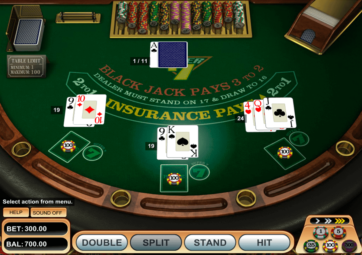 super  blackjack betsoft blackjack