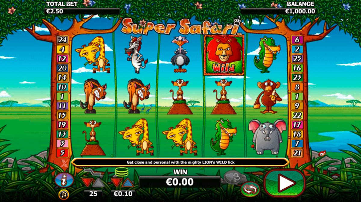 super safari nextgen gaming kolikkopelit