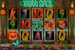 taboo spell genesis kolikkopelit