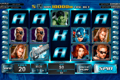 the avengers playtech kolikkopelit