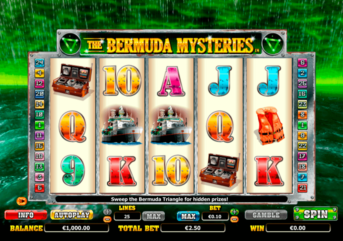 the bermuda mysteries netgen gaming kolikkopelit