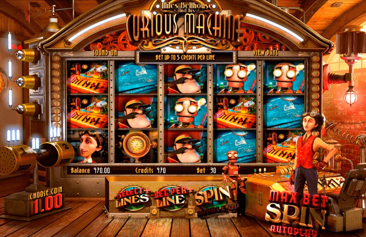 the curious machine betsoft kolikkopelit