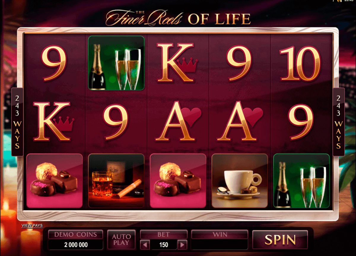 the finer reels of life microgaming kolikkopelit