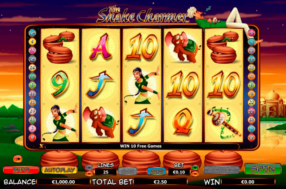 the snake charmer netgen gaming kolikkopelit