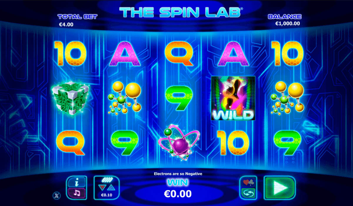 the spin lab netgen gaming kolikkopelit