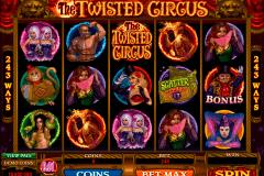 the twisted circus microgaming kolikkopelit
