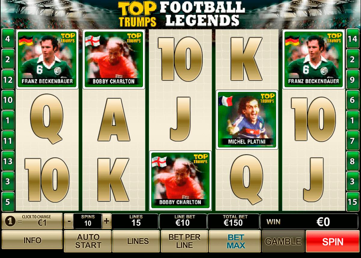 top trumps football legends playtech kolikkopelit