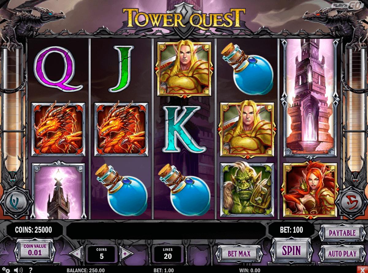 tower quest playn go kolikkopelit