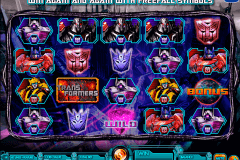 transformers battle for cybertron igt kolikkopelit